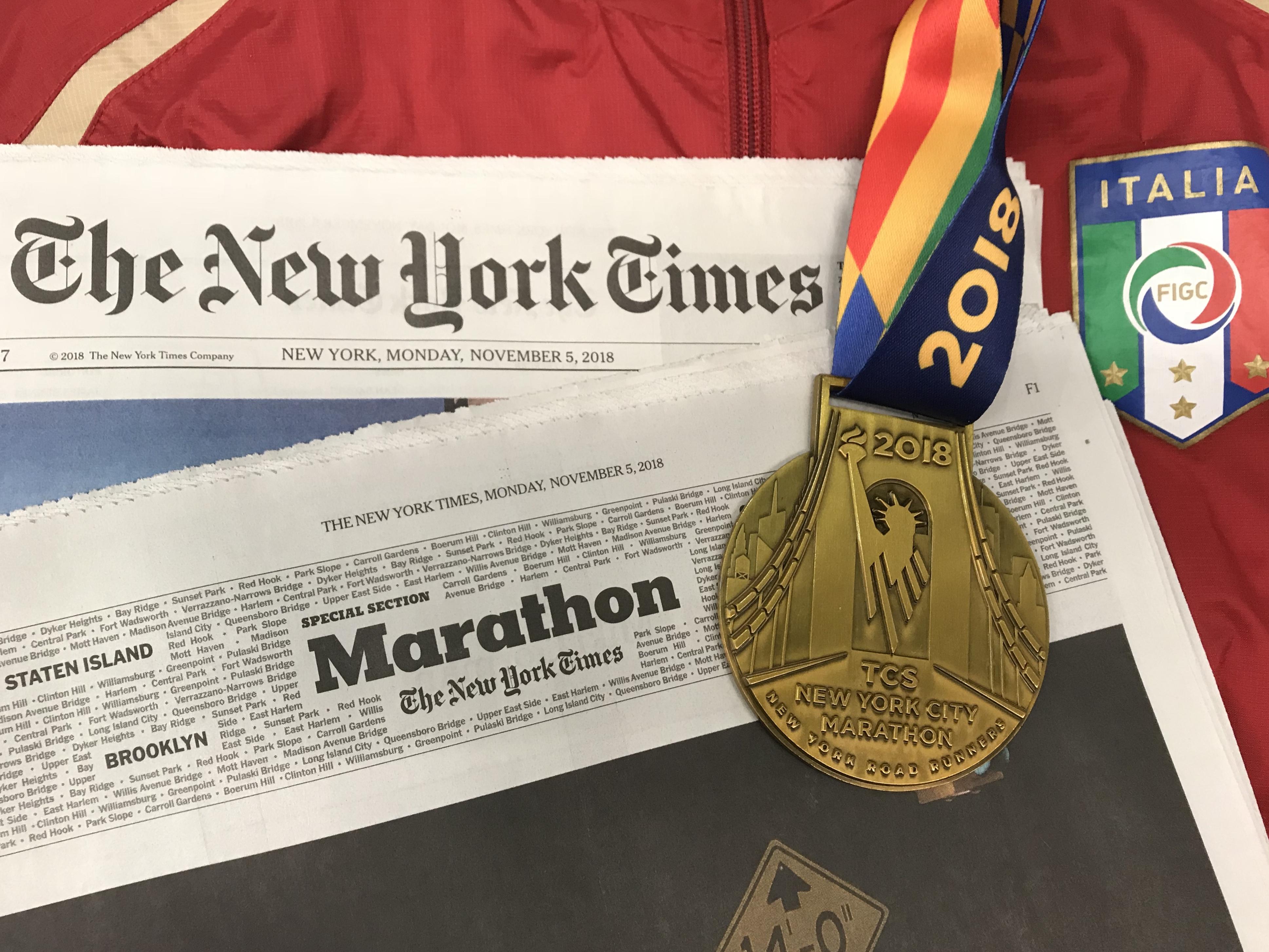 Il racconto della maratona